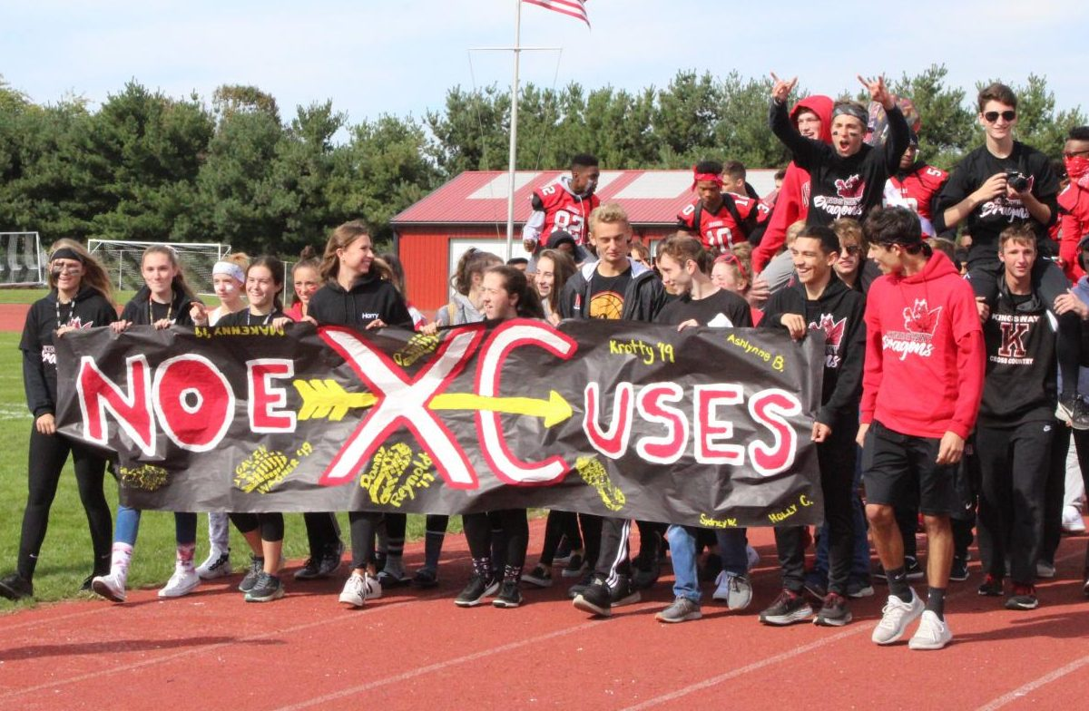 The girls and boys cross country teams continue to be tops in the state as they dominate at every major race, taking the team title in varsity and JV races like the Shore Coaches Invitational, the Gloucester County Championships, and most recently the Tri-County Championships.