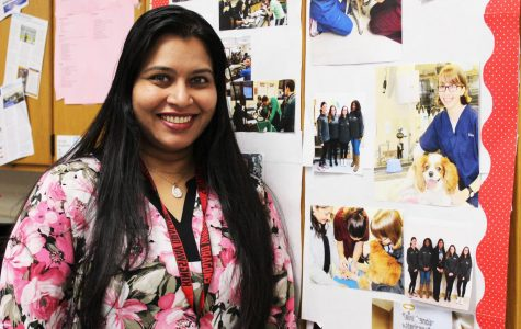 Ms. Ninan- The Outstanding Biology Teacher of the Year/KRHS Teacher of the Year