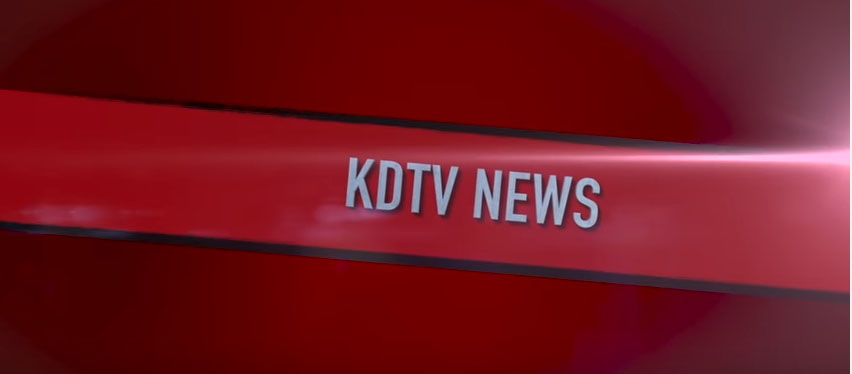 KDTV news gets student's attention