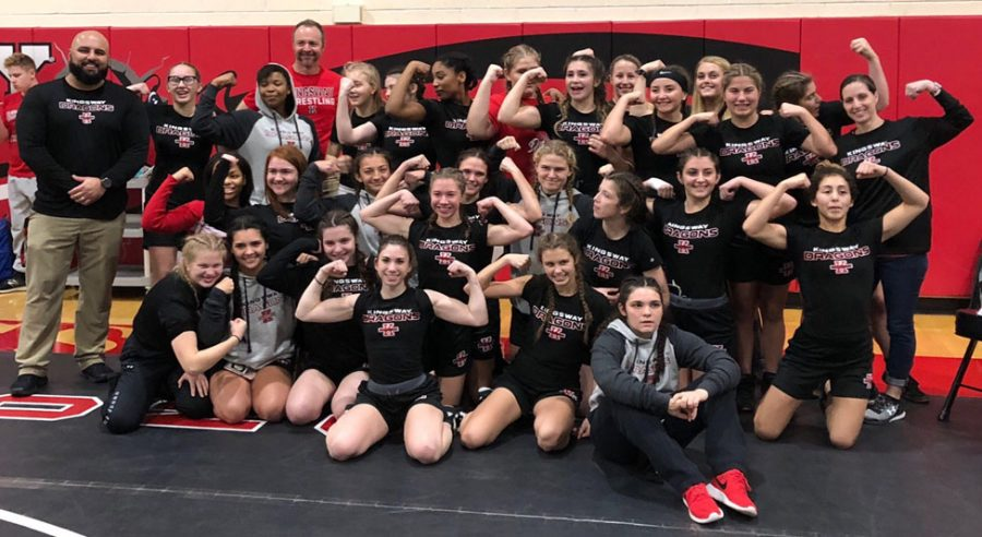 Girls new wrestling team making strides