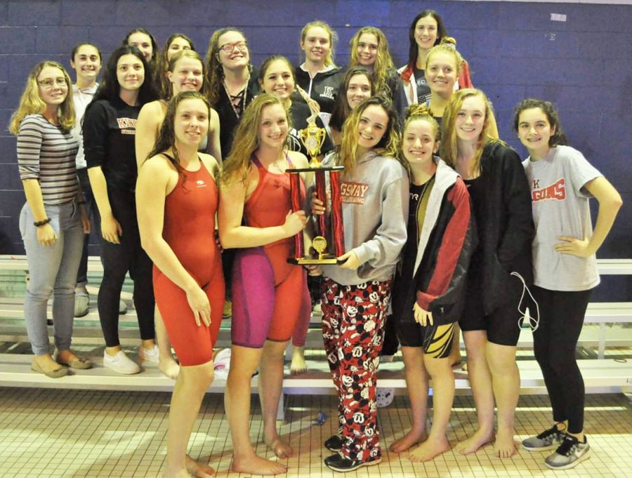 Girls' and Boys' swim teams win Tri-County Showcase