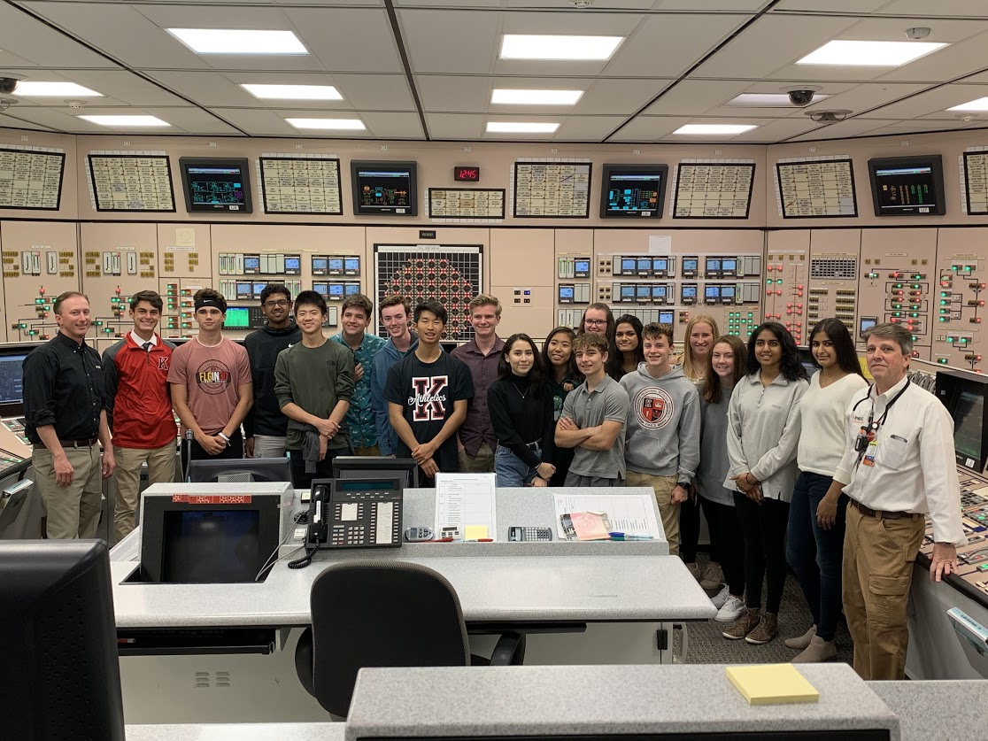 STEM Academy Visits Nuclear Power Plant