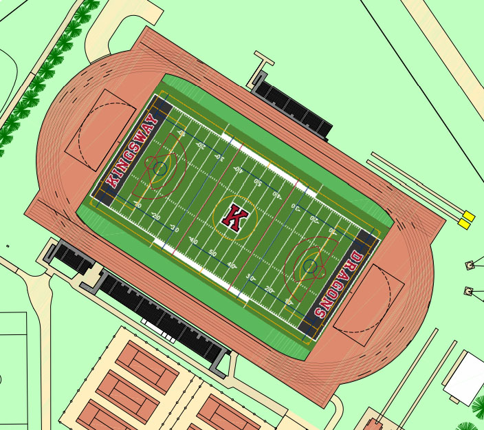 A+map+of++prospective+facility+.Lines+on+the+field+indicate+multiple+sport+use.