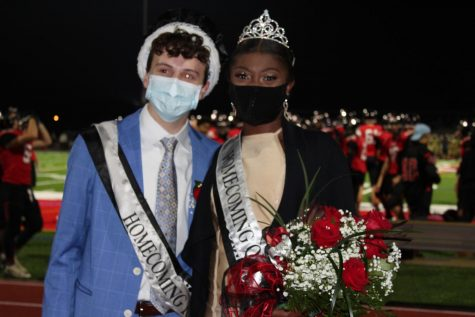 New Crowned 2020 Homecoming Royalty: Cole Griscom - King Taylor Gary - Queen