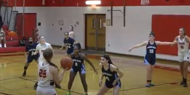 Kingsway girls came from behind in a victory against Highland.