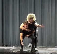 Danny and Sandy? Conrad Cliver and Jason Grandizio perform